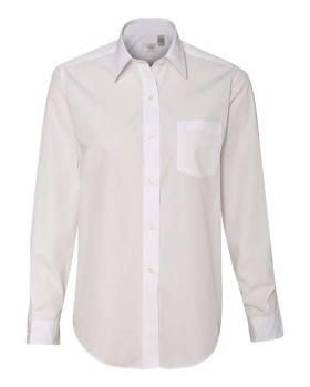 Van Heusen 13V0216 Women's Broadcloth Long Sleeve Shirt