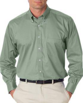 Van Heusen 13V521 Men's Long-Sleeve Dress Twill