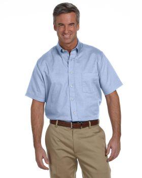 Van Heusen 56850 Men Short-Sleeve Wrinkle-Resistant Oxford