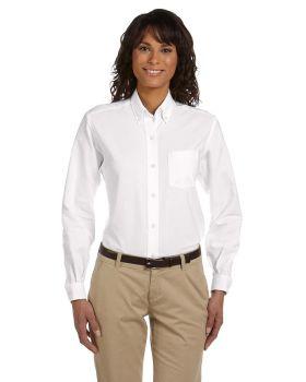 Van Heusen 59800 Women Long-Sleeve Wrinkle-Resistant Oxford