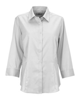 Van Heusen VANH0527 Van Heusen Women's Easy-Care Dress Twill Shirt
