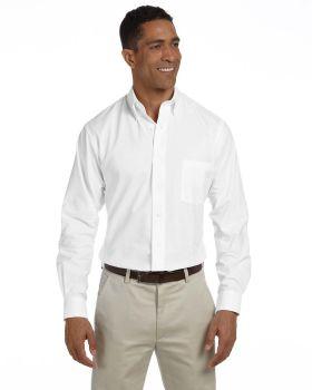Van Heusen VH56800 Men Long-Sleeve Wrinkle-Resistant Oxford