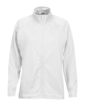 Vantage 3271 Women's Brushed Back Micro-Fleece Full-Zip Jacket