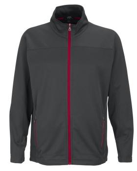 Vantage 3275 Brushed Back Micro-Fleece Full-Zip Jacket