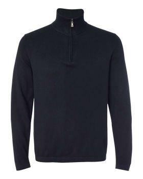 Weatherproof 151391 Vintage Cotton Cashmere Quarter-Zip Sweater