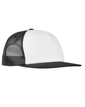 Yupoong 6005FW Foam Trucker with White Front