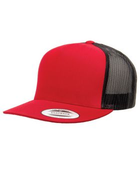 'Yupoong 6006 Adult 5 Panel Classic Trucker Cap'