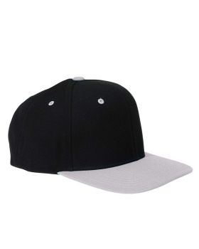 Yupoong 6089 Adult 6 Panel Structured Flat Visor Classic Snapback