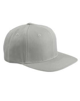 'Yupoong 6089 Adult 6 Panel Structured Flat Visor Classic Snapback'