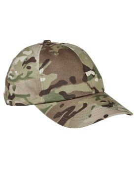 Yupoong 6245MC Low Profile Cotton Twill Multicam Cap