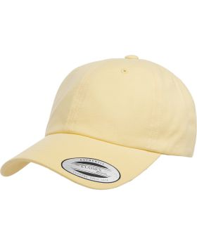 Yupoong 6245PT Adult Peached Cotton Twill Dad Cap