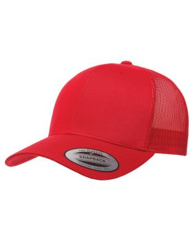 Yupoong 6606 Adult Retro 6-Panel Trucker Cap