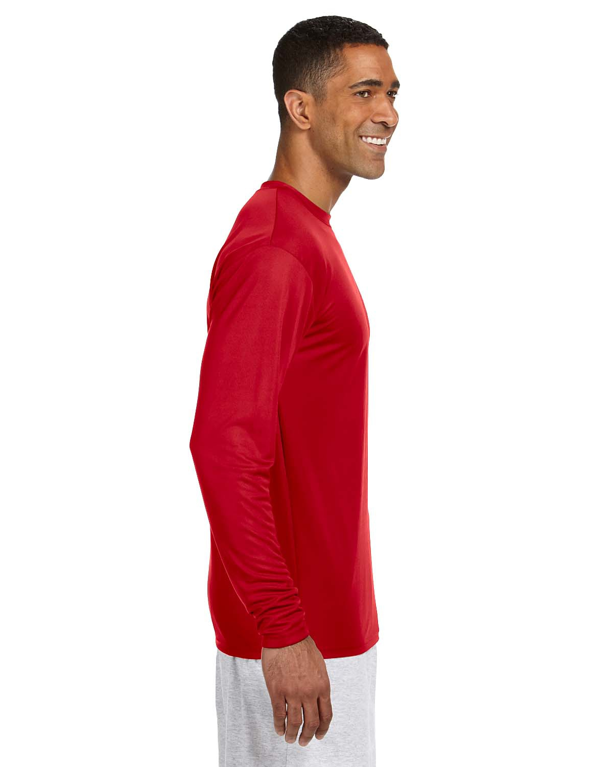 'A4 N3165 Men's Cooling Performance Long Sleeve T-Shirt'