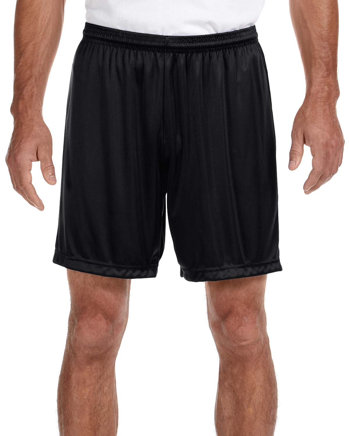 'A4 N5244 Adult 7 Inch Inseam Polyester Cooling Performance Shorts'