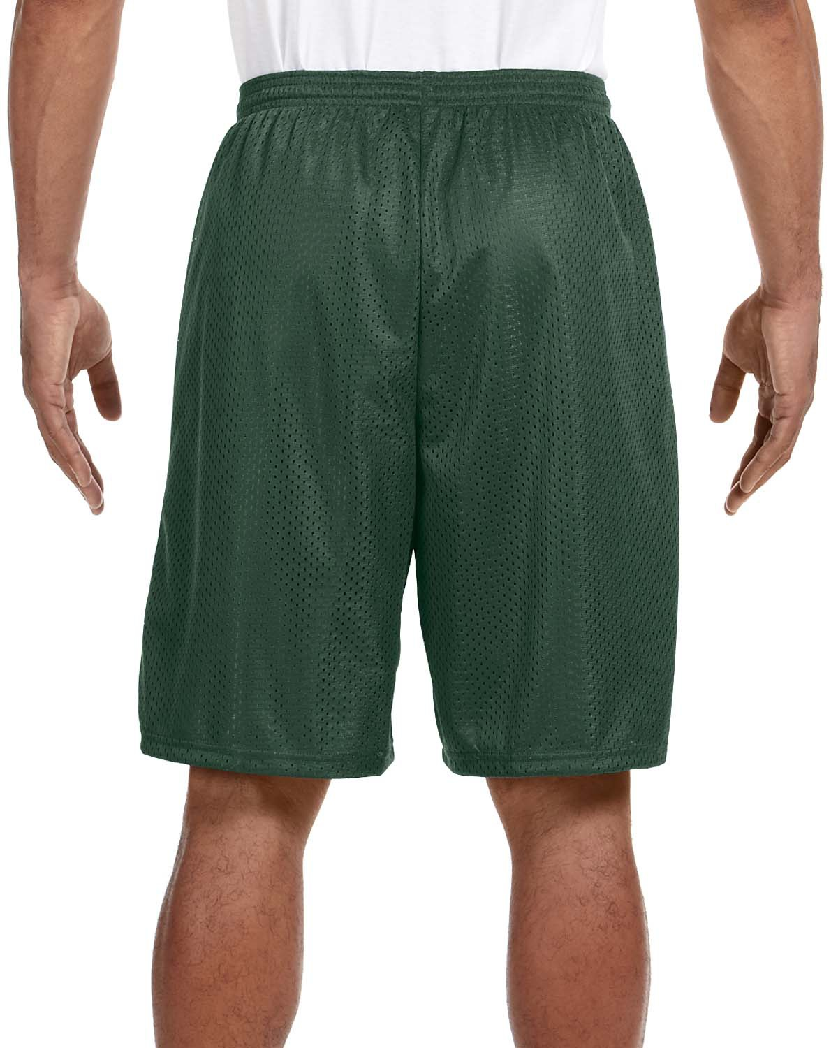 "Champion Mens NEW Size S-3XL Athletic Poly Mesh Gym Basketball Shorts 9/"" Inseam"