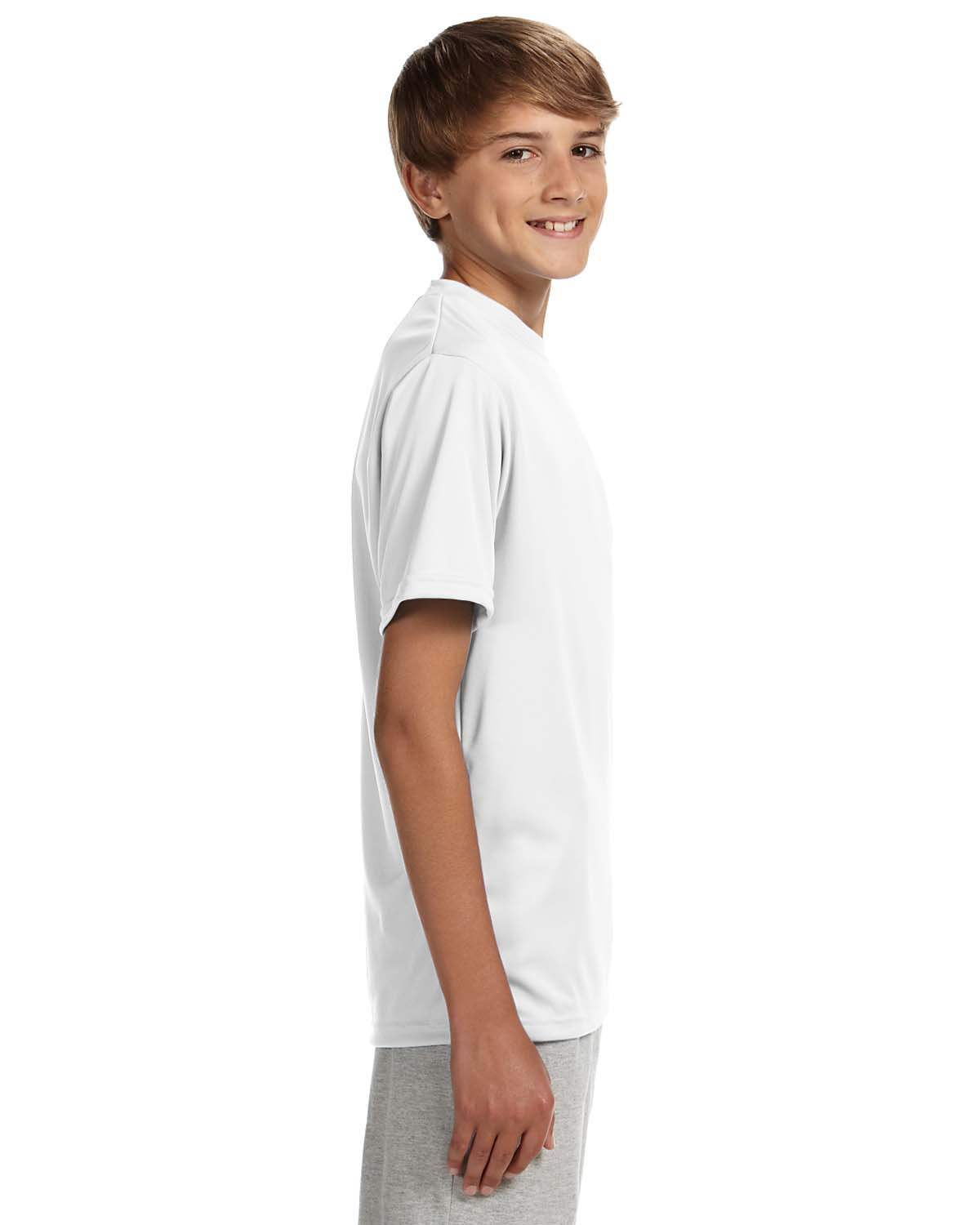 'A4 NB3142 Youth Cooling Performance Crew T-Shirt'