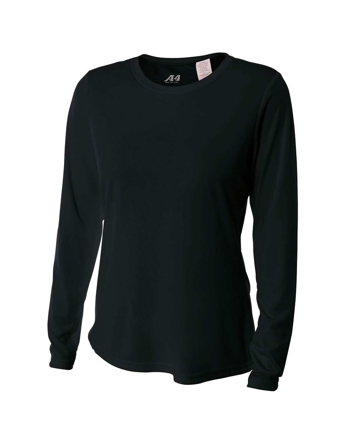 'A4 NW3002 Ladies' Long Sleeve Cooling Performance Crew Shirt'