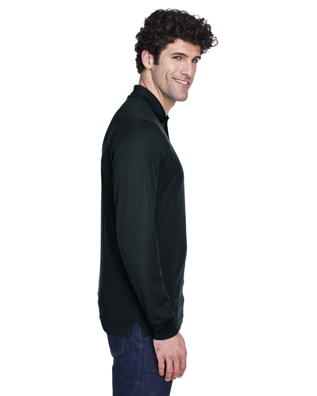 'Ash City - Core 365 88192 Men's Pinnacle Performance Long-Sleeve Piqué Polo'