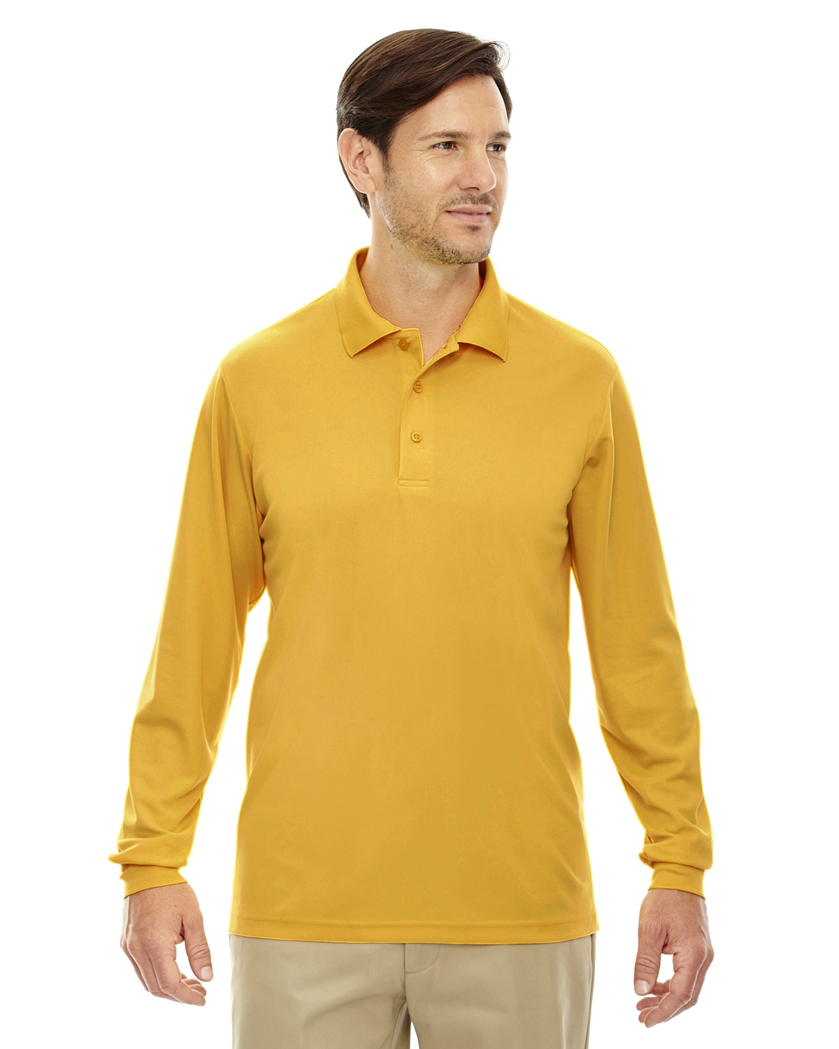 M Ash City Carbon Extreme Mens Snag Protection Long-Sleeve Polo
