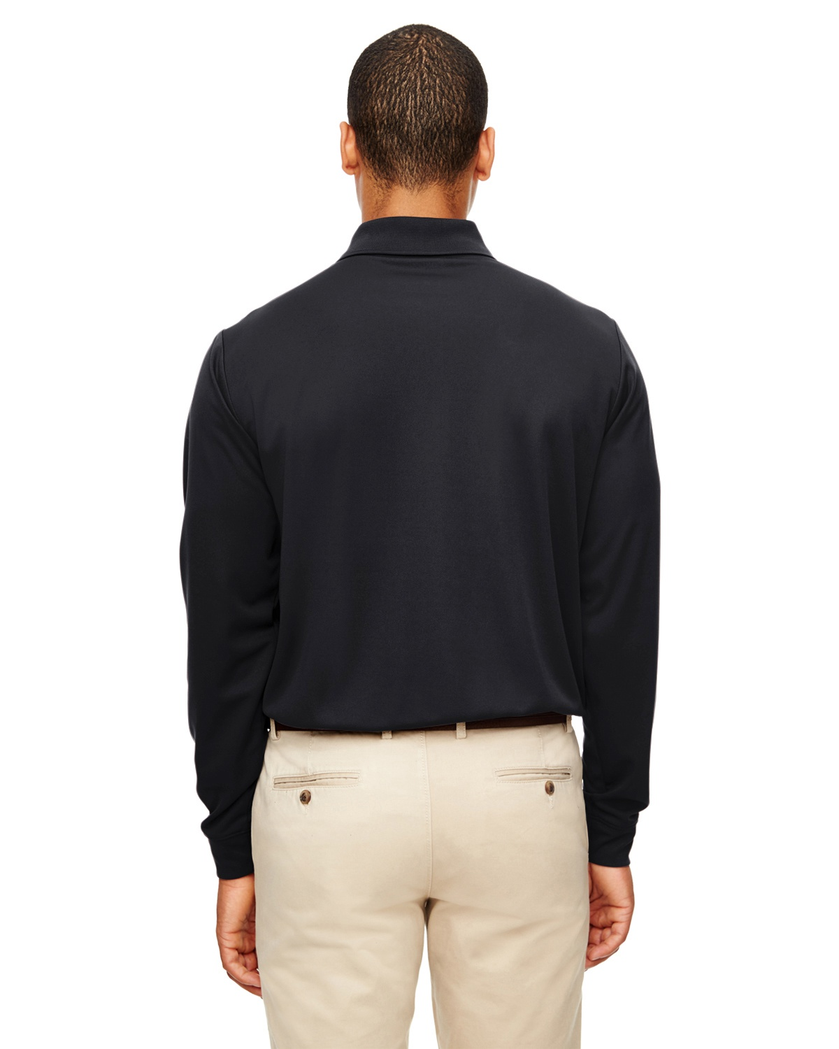 'Ash City - Core 365 88192P Adult Pinnacle Performance Long-Sleeve Piqué Polo with Pocket'