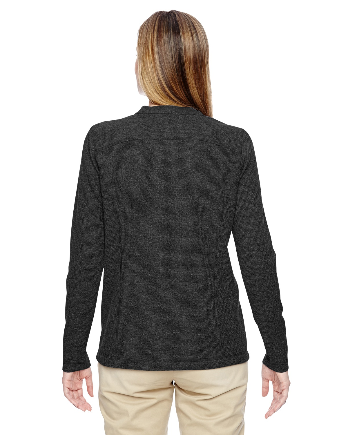 'Ash City - North End 78221 Ladies' Excursion Nomad Performance Waffle Henley'