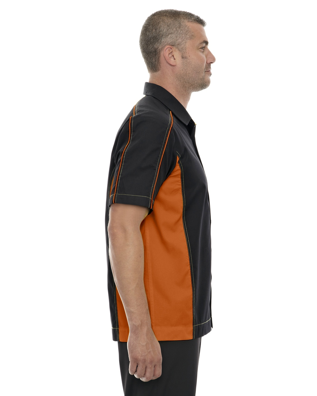 Ash City Mens Fuse Color Block Twill Shirt