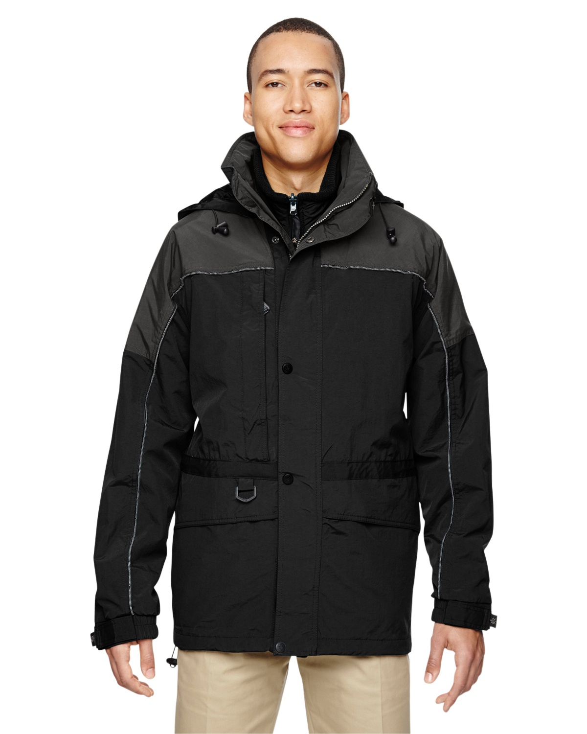 'Ash City - North End 88006 Adult 3-in-1 Two-Tone Parka'