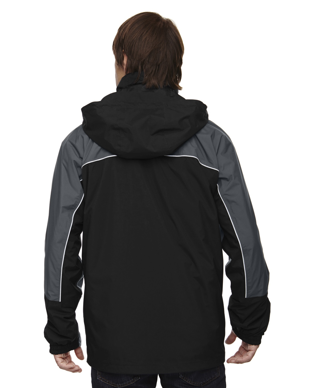 'Ash City - North End 88052 Adult 3-in-1 Seam-Sealed Mid-Length Jacket with Piping'
