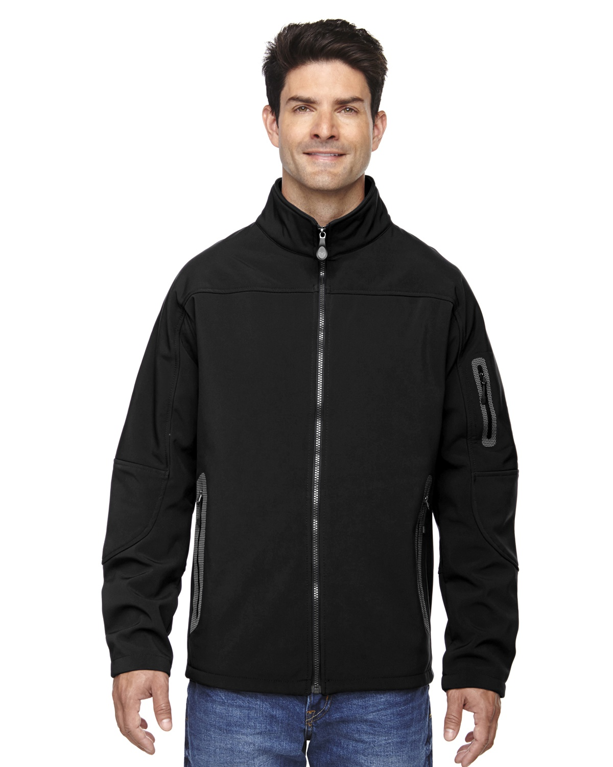 'Ash City - North End 88138 Men's Three-Layer Fleece Bonded Soft Shell Technical Jacket'