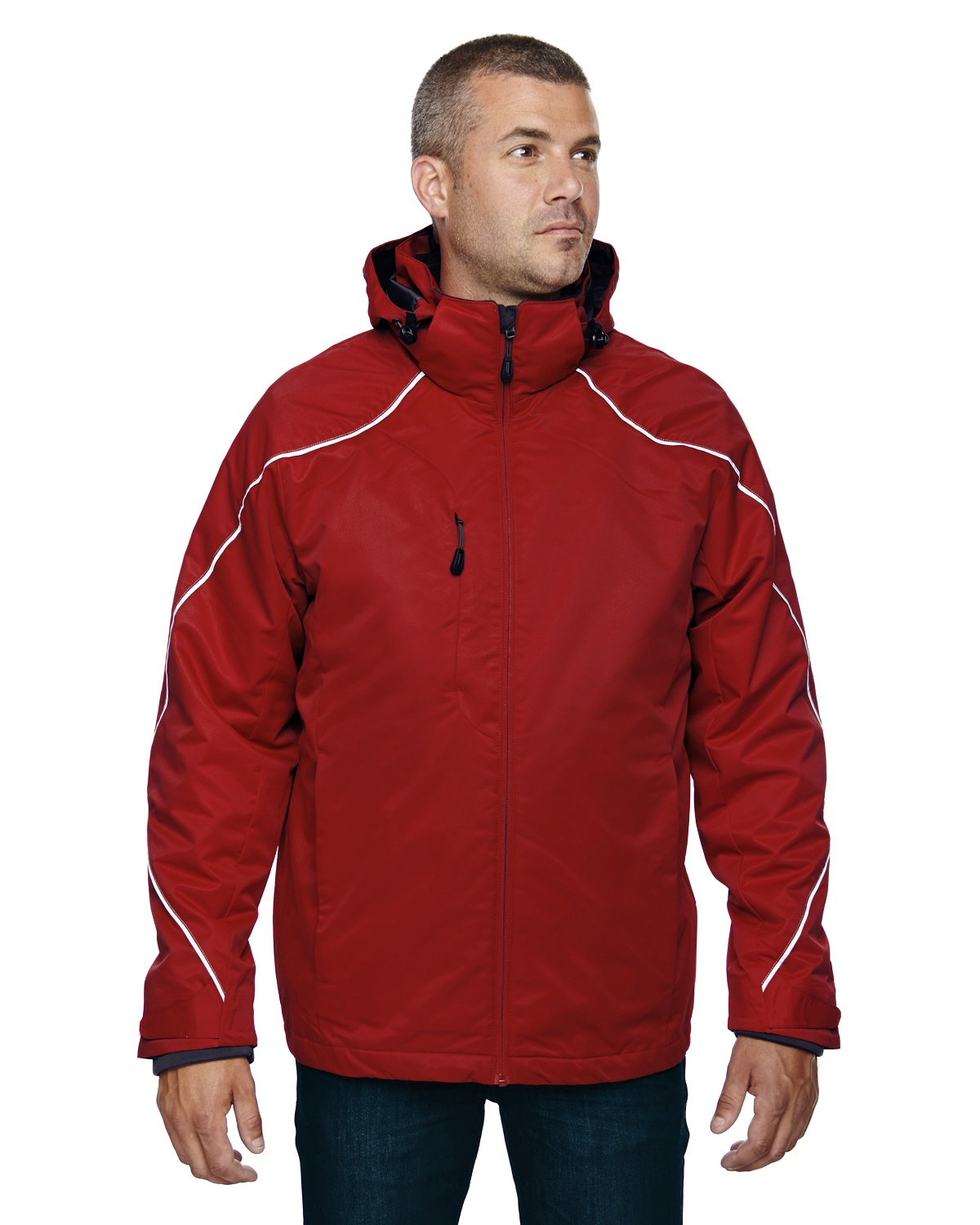 Classic Red North End Angle 3-in-1 Jacket with Bonded Fleece Liner XL 88196