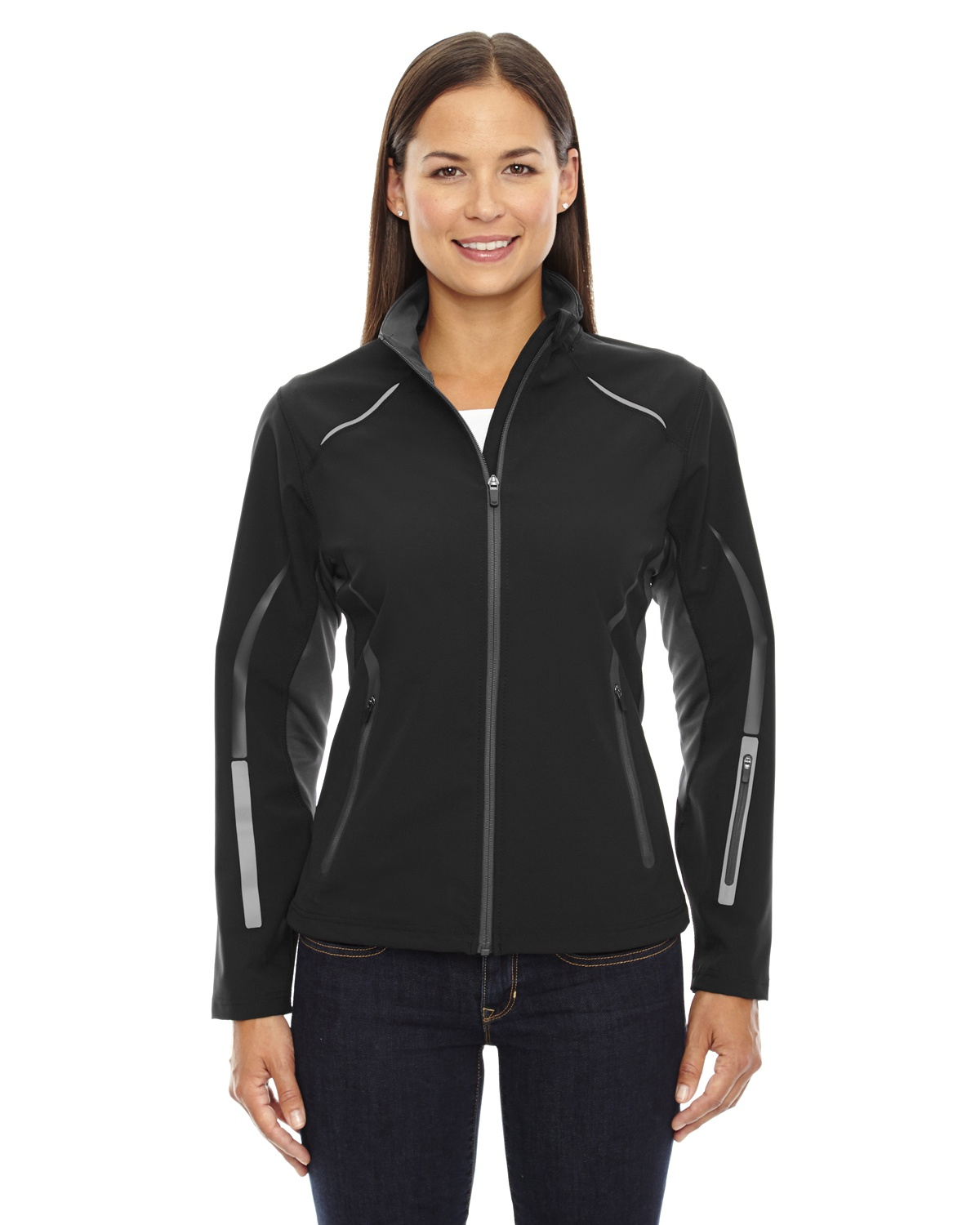 78665 Clothing, Shoes & Accessories North End Sport Women's New Casual Zip Off Hood Front Pocket Basic Jacket