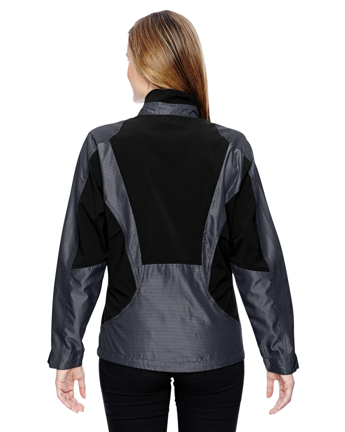 'Ash City - North End Sport Red 78807 Active Aero Two-Tone Lightweight Jacket'