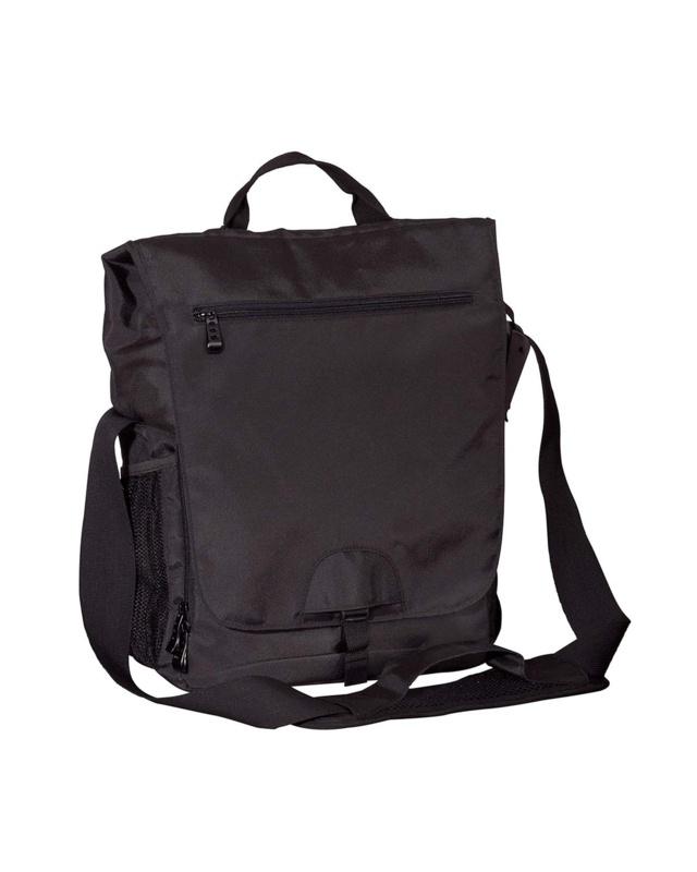 'BAGedge BE043 Vertical Messenger Tech Bag'