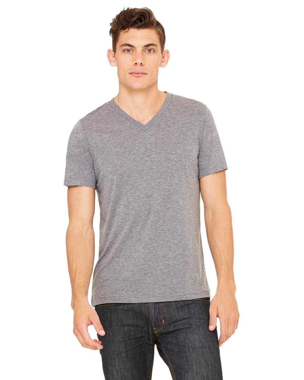 7d3347c68 Bella Canvas 3415C | Buy Unisex Triblend Short-Sleeve V-Neck T-Shirt -  VeeTrends.com