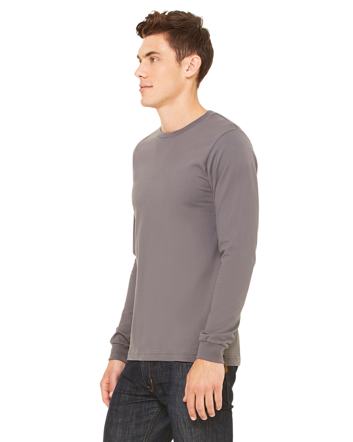 d606c53fd1230 Bella Canvas Long-Sleeve T-Shirt | Buy 3501 Unisex Jersey Tee ...