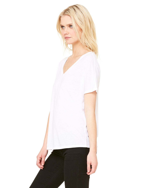 'Bella Canvas 8815 Ladies Slouchy V Neck T-Shirt'