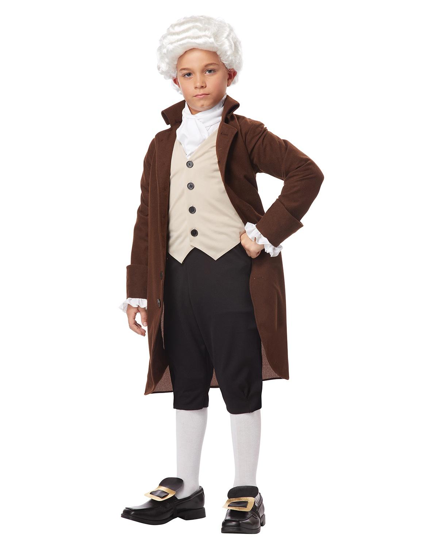 'California Costumes 00435 Colonial Man Benjamin Franklin Child Costume'