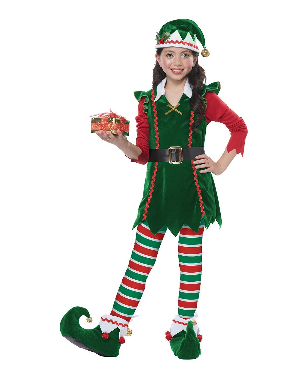 'California Costumes 00604 Child Festive Elf Costume'