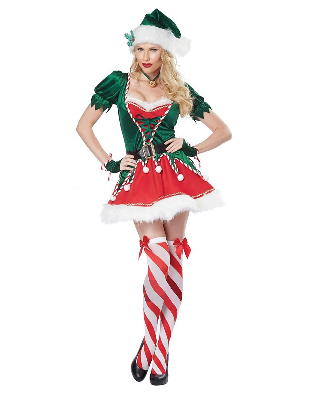 'California Costumes 01552 Santa Helper Adult Costume'