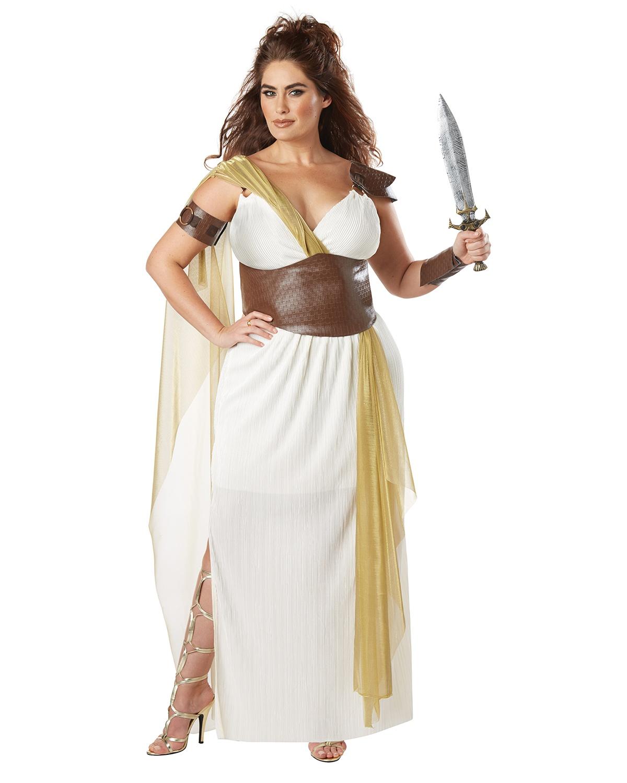 'California Costumes 01776 Plus Size Spartan Warrior Queen Adult Woman Costume'