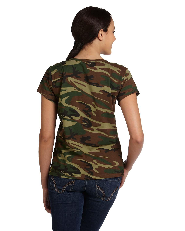 4fcc3df343707 Code Five 3665   Buy Ladies Camo T-Shirt - VeeTrends.com