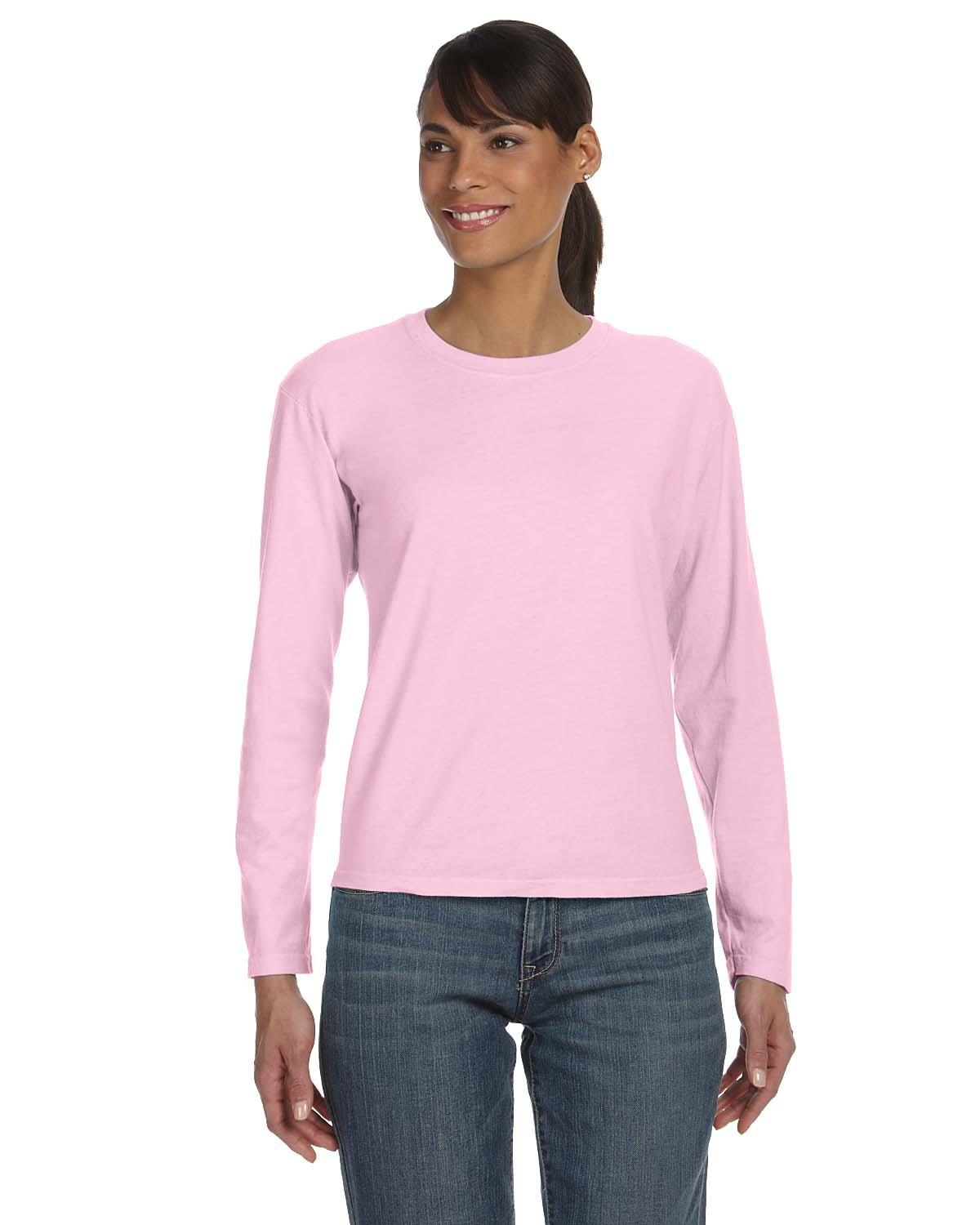 c0e0a512a Comfort Colors C3014 Ladies' Midweight RS Long-Sleeve T-Shirt ...