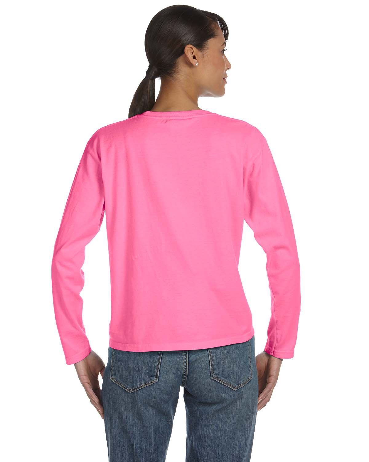 fbcaa0286 Comfort Colors C3014 Ladies' Midweight RS Long-Sleeve T-Shirt -  VeeTrends.com