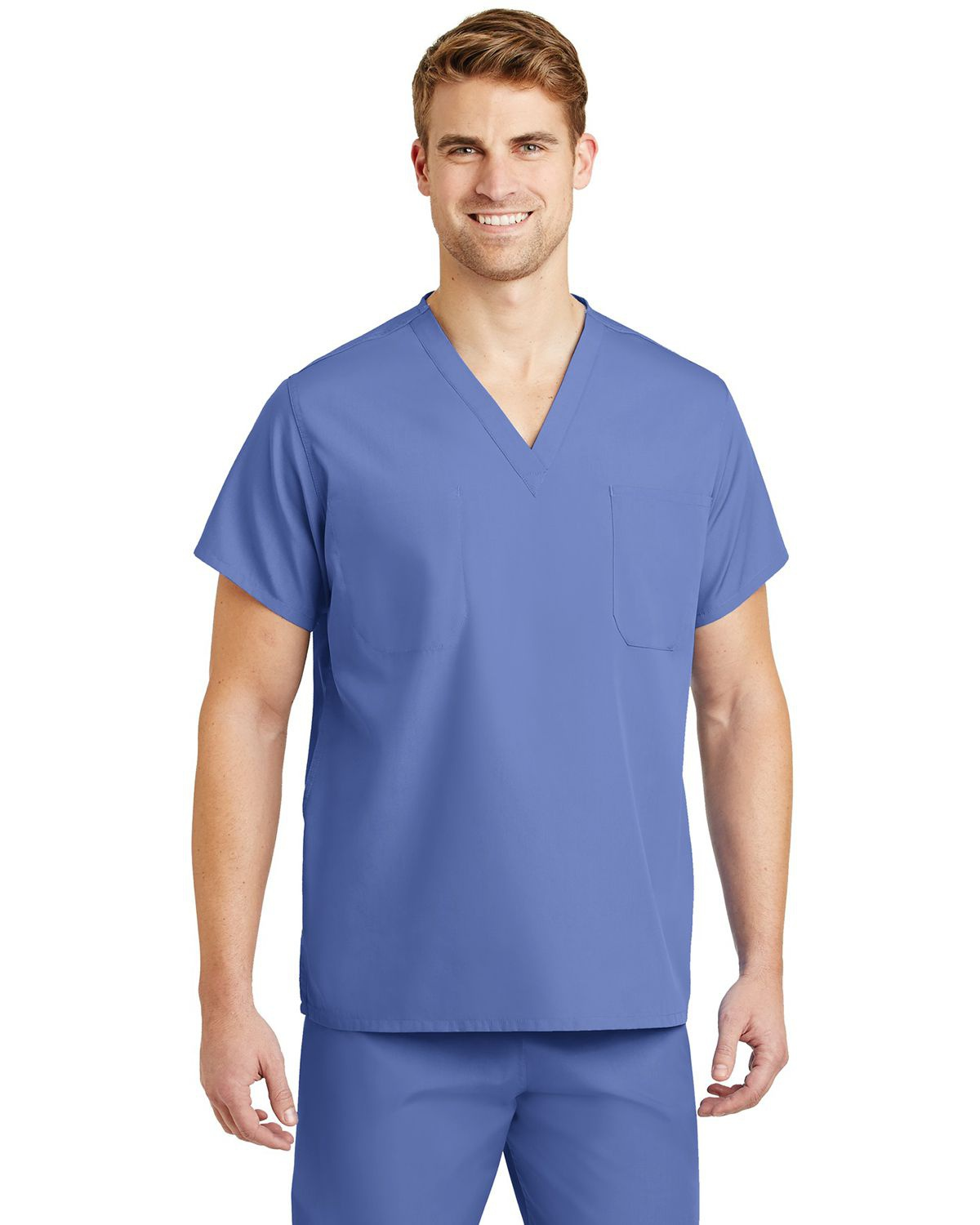'Cornerstone CS501 V-Neck Scrub Top'