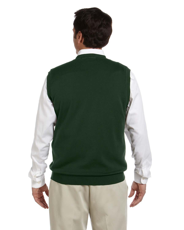 Devon /& Jones Mens 100/% Cotton V-Neck Vest-Navy