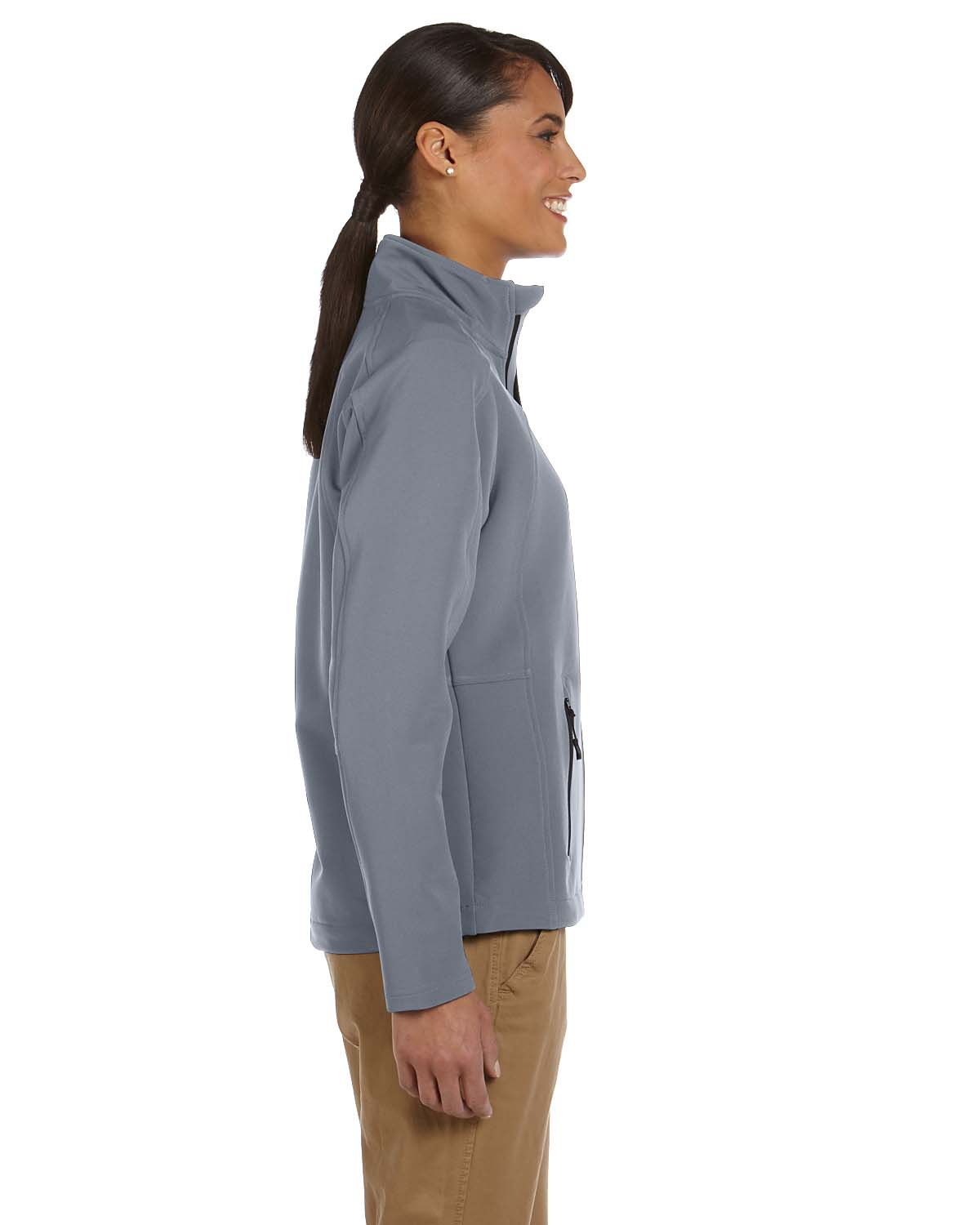 'Devon & Jones D945W Ladies' Doubleweave Tech-Shell Duplex Jacket'