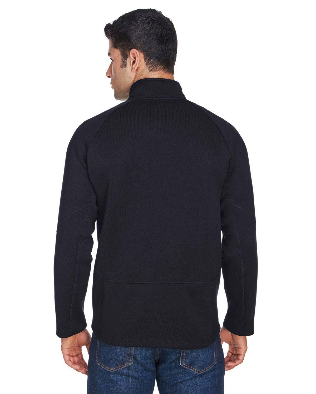 'Devon & Jones DG792 Adult Bristol Sweater Fleece Quarter-Zip'