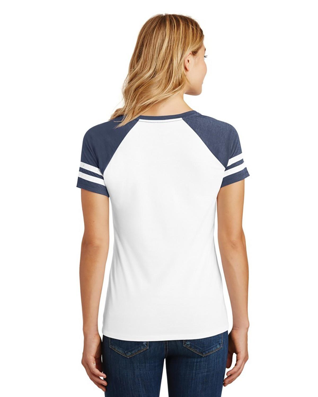 'District Made DM476 Ladies Game V Neck T-Shirt'