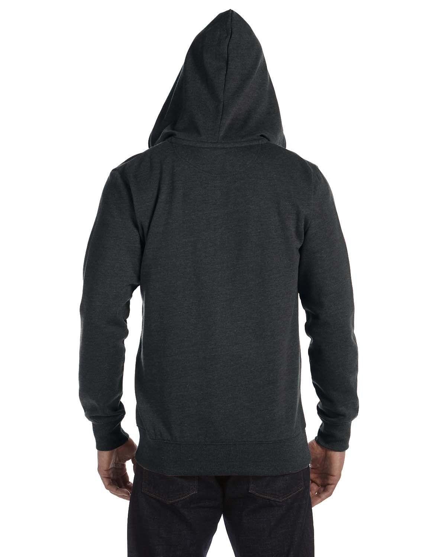 Organic//Recycled Heathered Full-Zip Hood EC5680 XS-2XL econscious Men/'s 7 oz