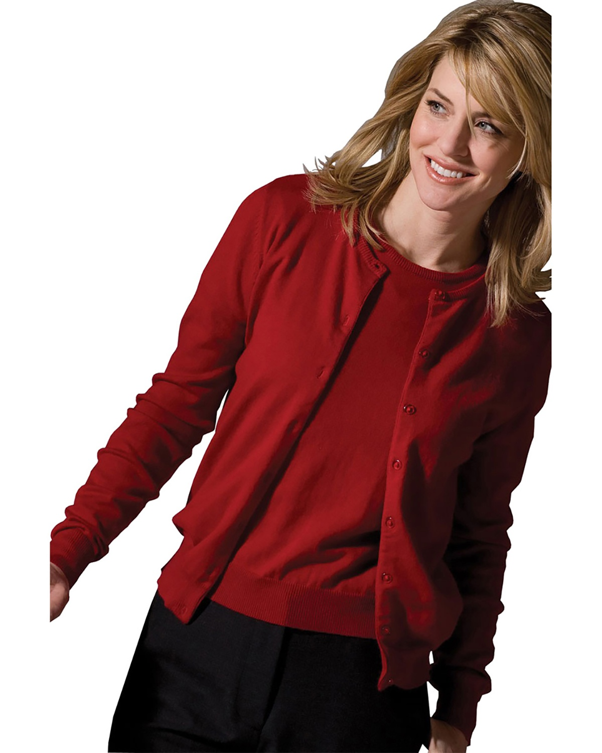 'Edwards 038 Ladies' Corporate Performance Twinset Sweater'